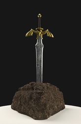 The Master Sword from Zelda by Evolution9874