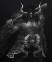 KAIDO OF THE BEASTS by awfulowafalo
