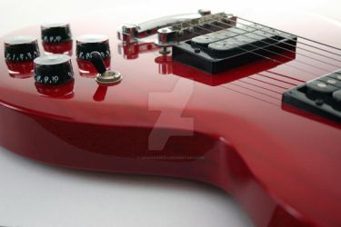 Red Guitar by graphixgeek