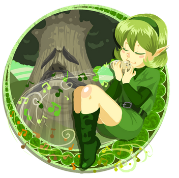 Saria by madelezabeth
