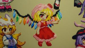 Touhou Character 1 - Scarlet Flandre (redone) by MagicPearls
