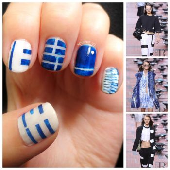 Kenzo Spring/Summer 2014 Collection Mani by qchiapetp