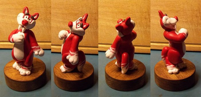 Button Figurine by MagicTrashman