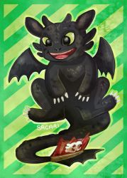 Toothless by Sacari