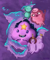 Princess Lumpy space by Sokoya