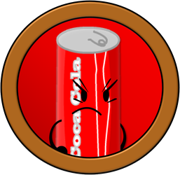 Inanimate Fight-Out #1: Cola Can by PlanetBucket22