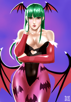 Morrigan Aensland by tioninja