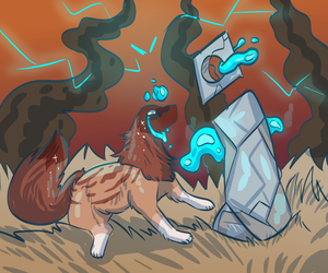 Water-Raffle prompt: The Elementals by Red-Draws