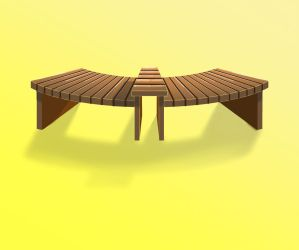 Outdoor Bench Design 01 by morning-shoujo