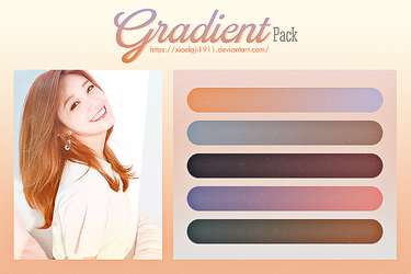 GRADIENT Pack 1 by Xioelgji1911