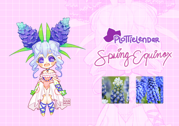 Spring Plottielendar: Spring Equinox Reveal (#306) by MMXII
