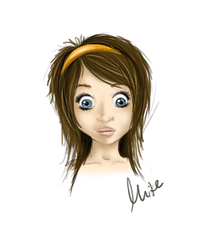 first drawing with tablet by me-i-ke