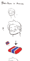 [aph] Thai-kun in America by SackDrawer