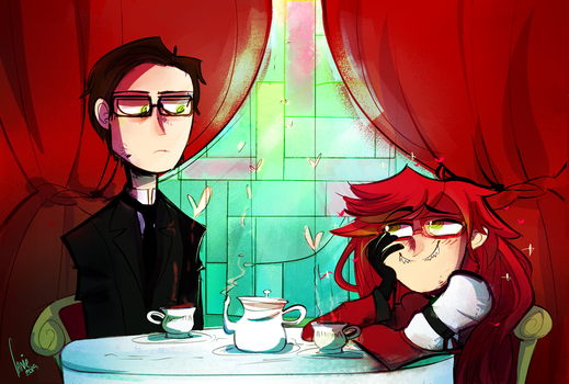Comm: Tea Time by panicatomizer