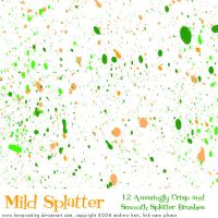 Mild Splatter by KeepWaiting