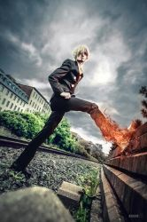 Sanji cosplay by Suki-Cosplay