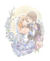Love Live!: TsubaHono wedding by sekaiichibannobaka