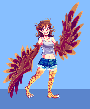 Harpy Cor - Commission by MarlonLeal