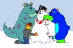 Making a Snowmonster by FantasyFlixArt by BenBandicoot