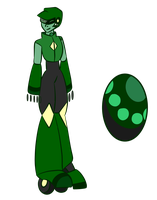 Green Goldstone by CloudySoda