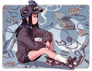 Fan-Art: Dondorororo's Cassette Girl by thdark