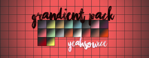 Gradient PACK by yeahsource by oursheartsps