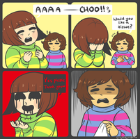 Sneeze by ChuraGhost