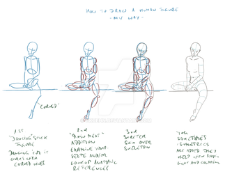 How 2 draw a human figure - my way: the basics by gkuehn