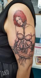 My tattoo of Tyra by QDLA