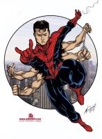 Six arm spiderman by mdavidct