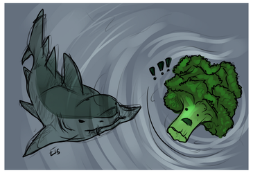 Vegetarian Shark. by Forbidden--Frost