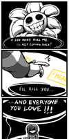 [SPOILERS] Undertale - Fight or Mercy? by WarGreymon43