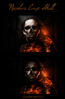 Nicolas Cage Skull by Sammers1