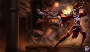 LoL - Blood Moon Akali by KNKL