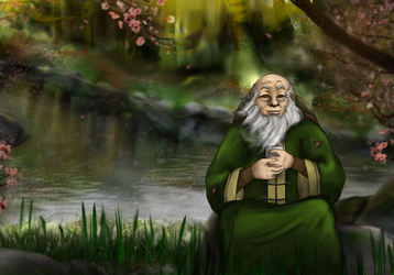 Uncle Iroh by Purple Twilek by JCTMerge