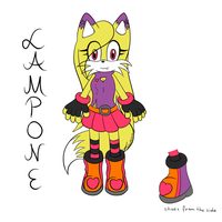 Lampone the Wolf Reference by RubintheHorse