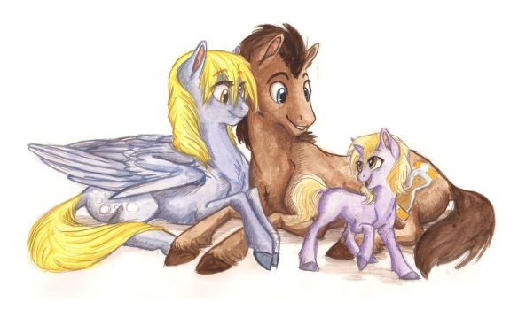 The Whooves Family by Earthsong9405