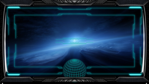 Stargate Interface Space Ship Wallpaper by exostyx