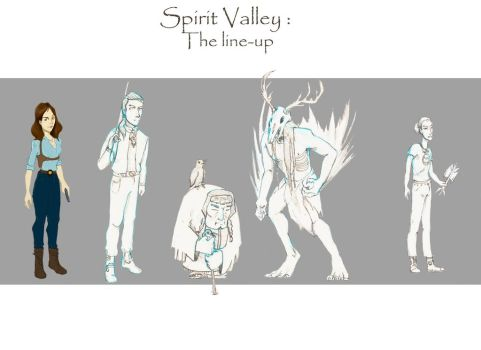 Character design sillhoutte redesign by Aui-song