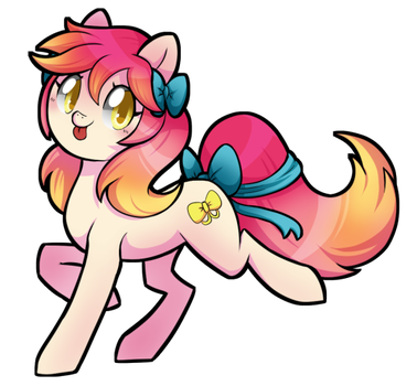 Ribbon Tail by PegaSisters82