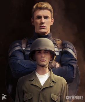Captain America #1 by crymeouts