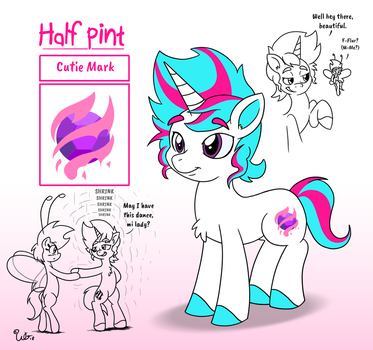 Half Pint Character Sheet (for RedSizer) by WillDaBeard