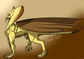 Sand Dragon by himeis1