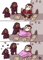 dishonored, doodles 53 by Ayej