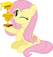 MLP Vector - Fluttershy #12 by jhayarr23