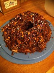 Chocolate Dr. Pepper Angel Food Cake by VeronicaPrower