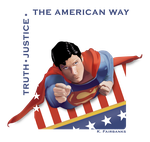The Man of Steel (vector drawing) by eyeqandy