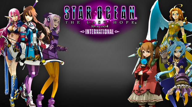 THe Girls of Star Ocean 4 by Zero0303