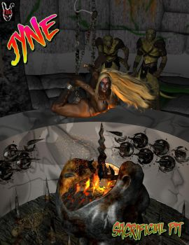 Jyne in the Sacrificial Pit by TheBadLieutenant
