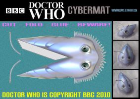 Doctor Who - Cybermat by mikedaws